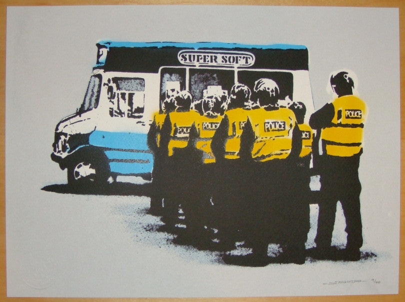 2010 Super Soft - Silkscreen Art Print by SPQR