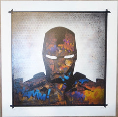 2012 Tagged Iron Man - Giclee Art Print by Rene Gagnon