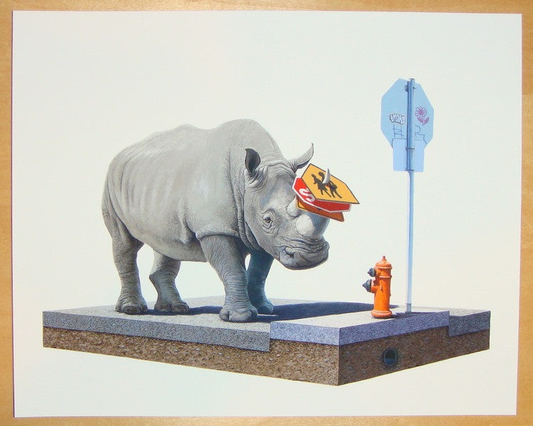 2012 The Collector - Giclee Art Print by Josh Keyes