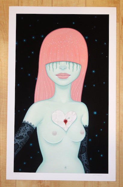 2014 The Love Note - Giclee Fine Art Print by Tara McPherson