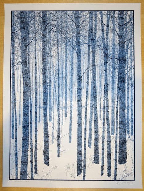 2014 The Winter - Silkscreen Art Print by Dan McCarthy