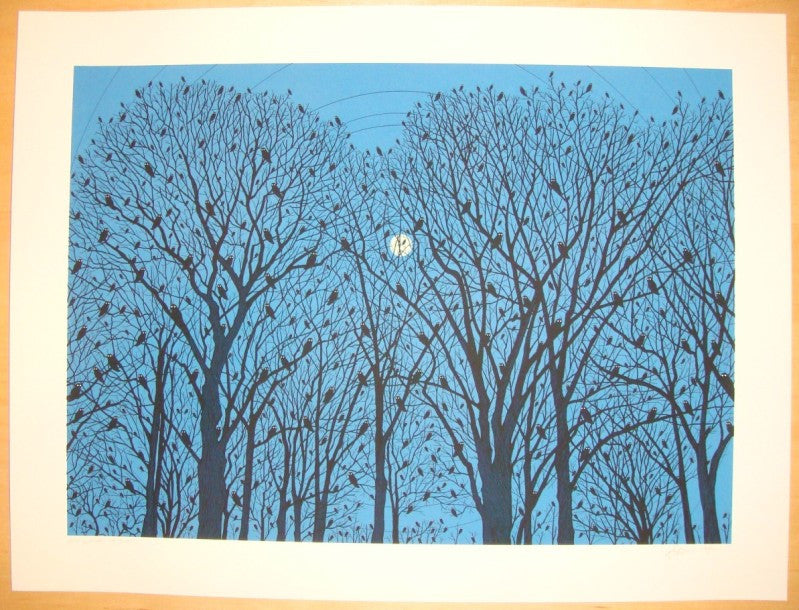 2007 The Woods - Silkscreen Art Print by Dan McCarthy