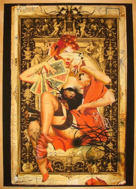 2009 Toilet/Jane Stone No. 2 - Giclee Art Print by Handiedan