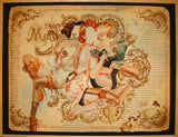 2010 Trois No. 1 - Giclee Art Print by Handiedan