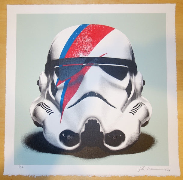 2015 Troopin Sane - Silkscreen Art Print by John Grayson