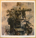 2012 War Fixers - Giclee Art Print by Ashley Wood
