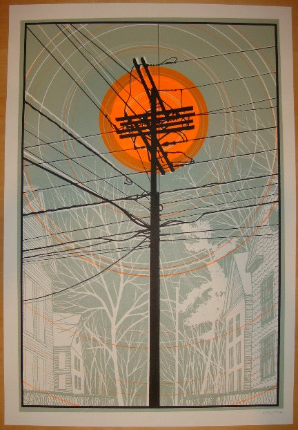 2006 The Warm Sun - Silkscreen Art Print by Dan McCarthy