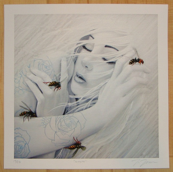 2012 Wasps - Giclee Art Print by Joey Remmers