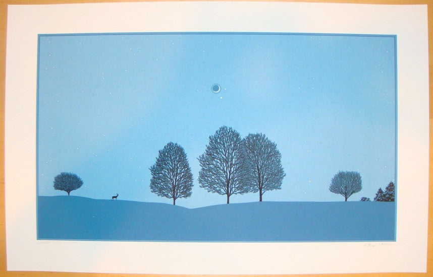 2009 Winter Solstice - Silkscreen Art Print by Dan McCarthy