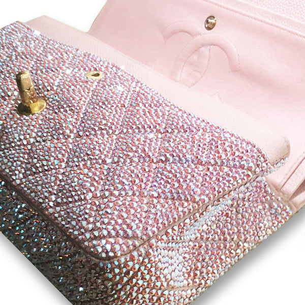 e70615229379 Swarovski Crystal Covered Chanel Purse | Mulberry Rose