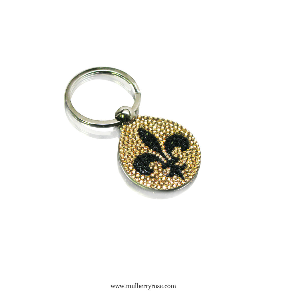 mylittlecrystal - Swarovski Crystal Adorned Keychain-Choose your pattern