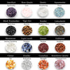 Crystal Hair Stick,  Choose up to 4 Gemstones