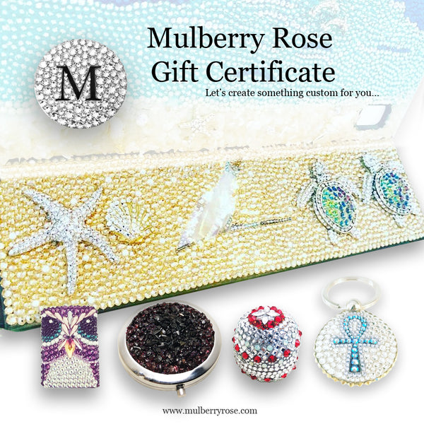 mylittlecrystal - Mulberry Rose Store Gift Certificate