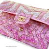 Swarovski Crystal Covered Chanel Flap Bag (crystal application service)