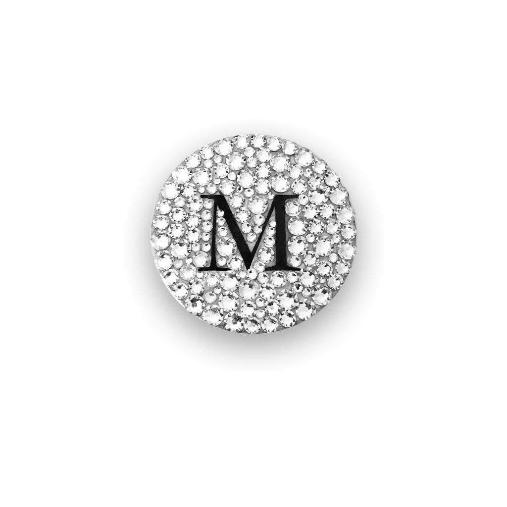 mylittlecrystal - Your Initials in Swarovski Crystal on a PopSocket