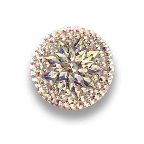 Starburst Crystal PopSocket, made with Swarovski Crystal