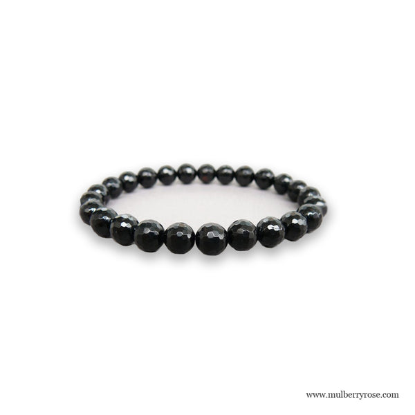 Negative Energy Protection Bracelet with Black Tourmaline