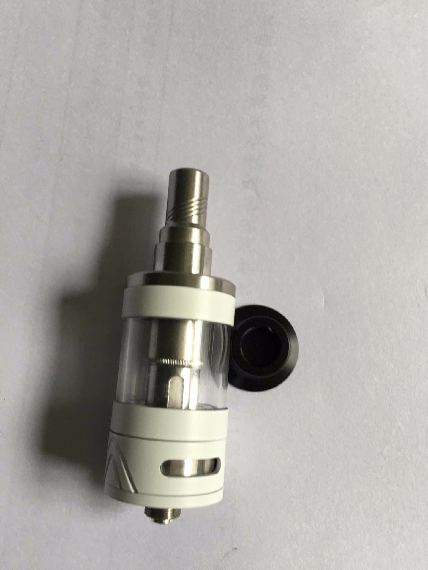 TOBECO MINI SUPERTANK SUPER TANK (25MM COMPATIBLE) STAINLESS REPLACEMENT TOP CAP 510 DRIP TIP ADAPTER