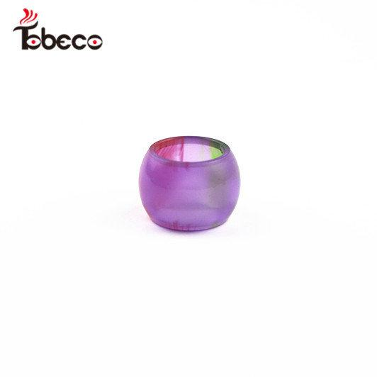 TOBECO SMOK TFV8 BABY EPOXY RESIN EXTENDED REPLACEMENT TANK ACCESSORY (DOLLAR SPARKLE OPTIONS AS WELL)
