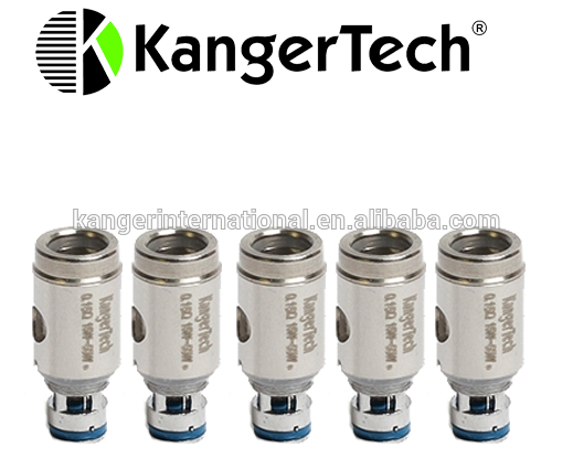KANGERTECH SSOCC REPLACEMENT COILS 5PK VERTICAL NI200 0.15 OHM, 0.5 OHM,  1.5 OHM. CLAPTON FOR NEBOX, SUBVOD, SUBTANK SERIES