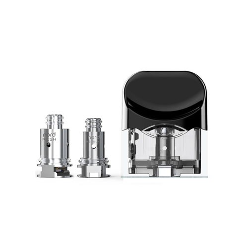 SMOK NORD 3ML REPLACEMENT POD AND 2 COIL (0.6OHM MESH, 1.4OHM REGULAR) REPLACEMENT COILS ACCESSORY