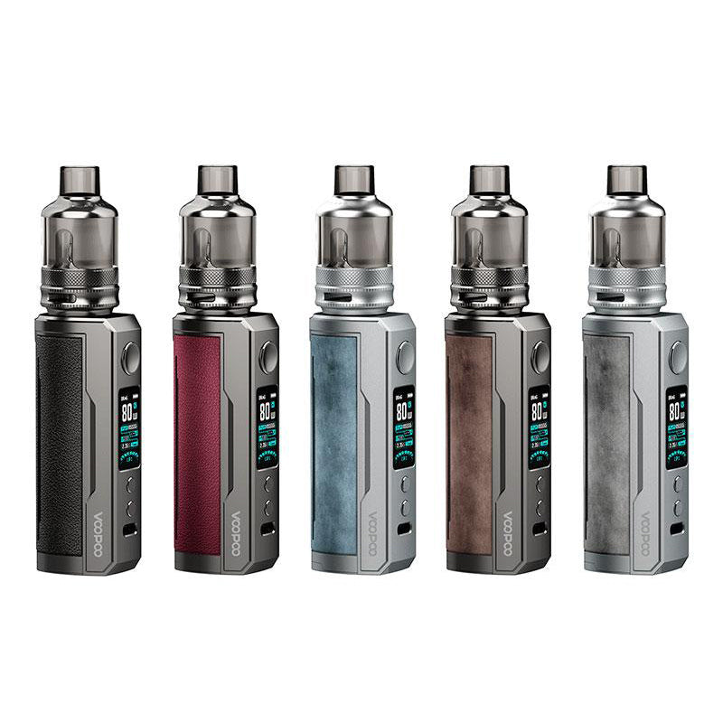 VOOPOO DRAG X PLUS 100W 5.5ML 18650 STYLE TPP POD STARTER KIT