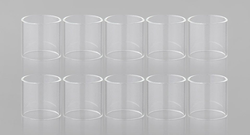 SMOK SUB OHM * TFV12 * REPLACEMENT GLASS TUBE ACCESSORY * PACK OF 10 *