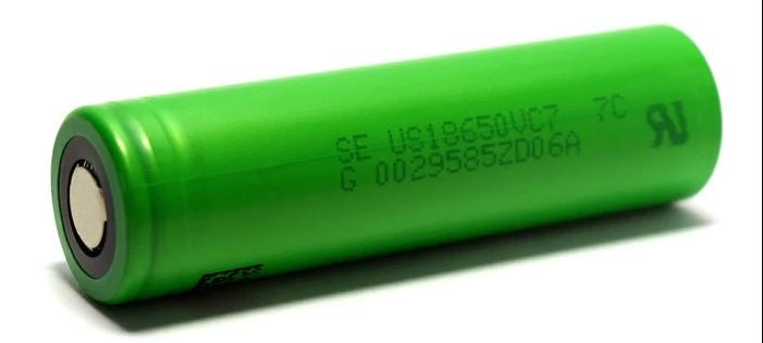 SONY VC7 IMR 18650 3500MAH 15A MAX US18650VC7 LITHIUM ION BATTERY