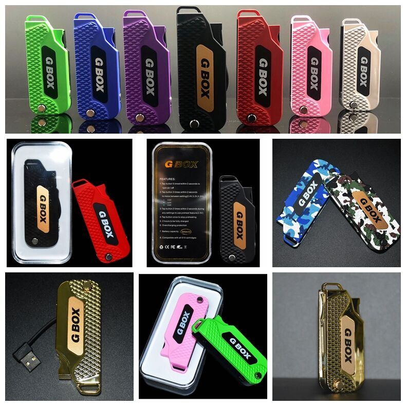 G BOX GBOX LOW-KEY KEY FOB MOD VARIABLE VOLTAGE STEALTH TANK BATTERY