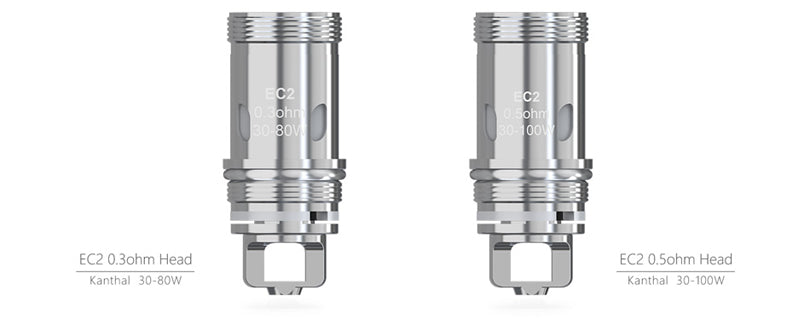 ELEAF EC2 REPLACEMENT COILS FOR MELO 4 / 3 / 2, LEMO 3, IJUST 2 (& IJUST 2 MINI), IJUST S