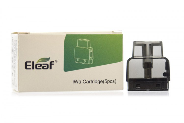 ELEAF IWU REPLACEMENT POD CARTRIDGE ACCESSORY - 5PK