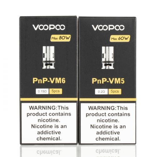 VOOPOO PNP REPLACEMENT COILS FOR DRAG BABY TRIO, VINCI, DRAG X AND DRAG S