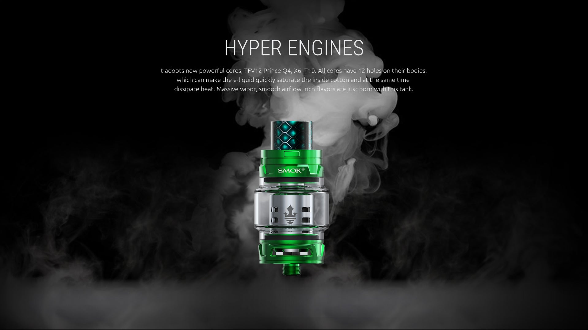 SMOK TFV12 *PRINCE* CLOUD BEAST PRINCE EXTENDED TUBE CLEAROMIZER SUB-OHM TANK