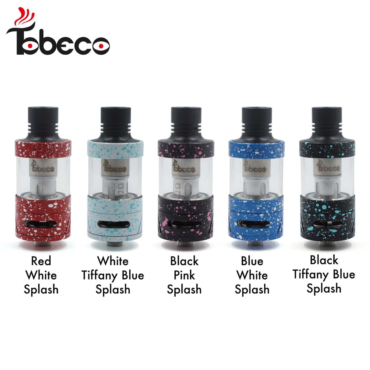 TOBECO SUB OHM 25MM 5ML SUPERTANK SUPER TANK TOP FILL PYREX CLEAROMIZER TANK