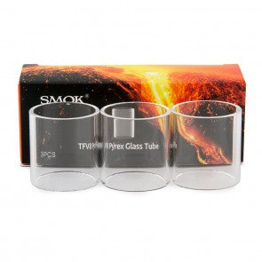 3 OR 5 PACK OF SMOK SUB OHM TFV8 REPLACEMENT GLASS TUBE ACCESSORY