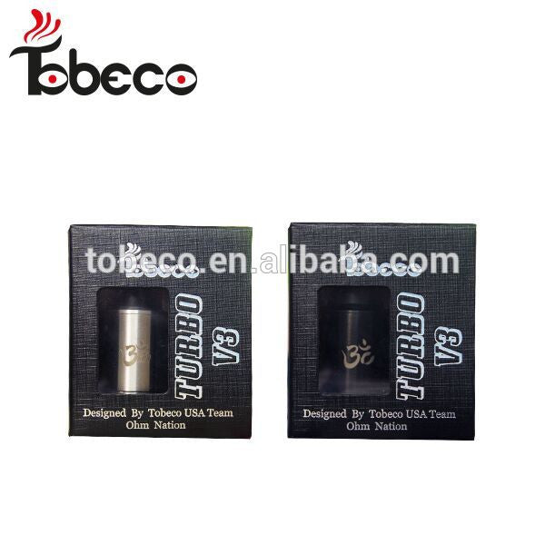TOBECO AUTHENTIC TURBO V3 REBUILDABLE DRIP ATOMIZER RDA BY OHMNATION ORIGINAL