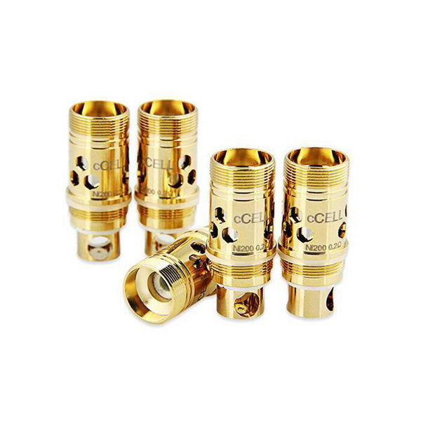 VAPORESSO cCELL REPLACEMENT COIL 5PK FOR TARGET (COMPATIBLE W/TRITON, ATLANTIS, SUPERTANK MINI, ETC.) KIT CLEAROMIZER 5PK