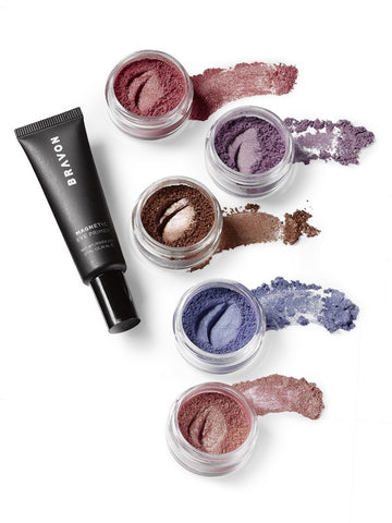 High Intensity 5-Piece Loose Pigment Shadow Collection + Magnetic Eye Primer