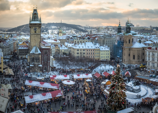 Holiday Markets & Ice Skating in 7 European Cities