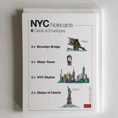 image of NYC Themed Notecards