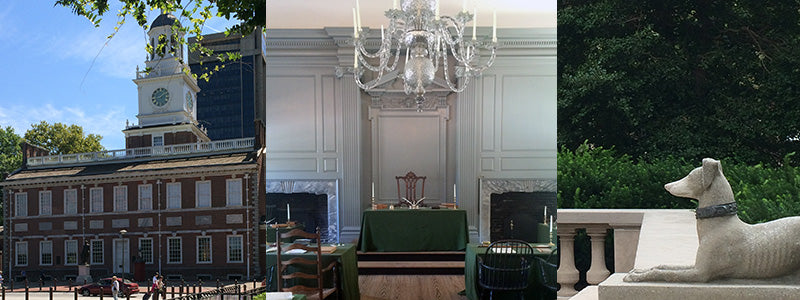 photos of Independence Hall in Philadelphia