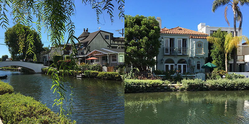 image of venice beach canal houses