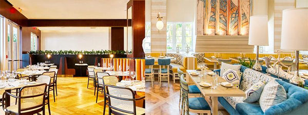 images of miami and south beach restaurant interiors