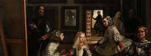 Detail image of painting Las Meninas by Velazquez
