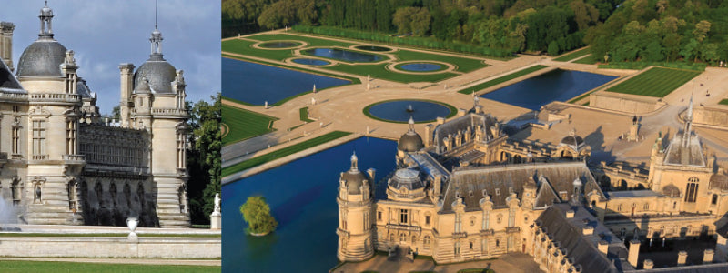 image of chateau Domaine Chantilly France