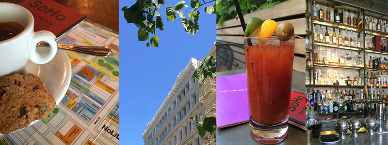 Bloody Mary at The Crosby Hotel SoHo NYC