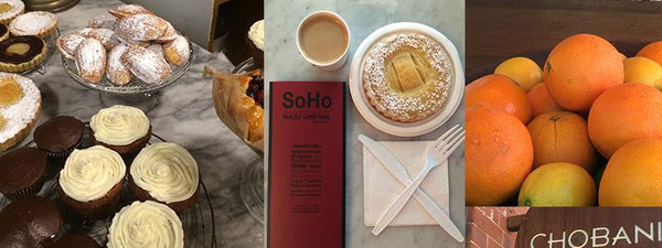 image of food from NYC SoHo Nolita restaurants