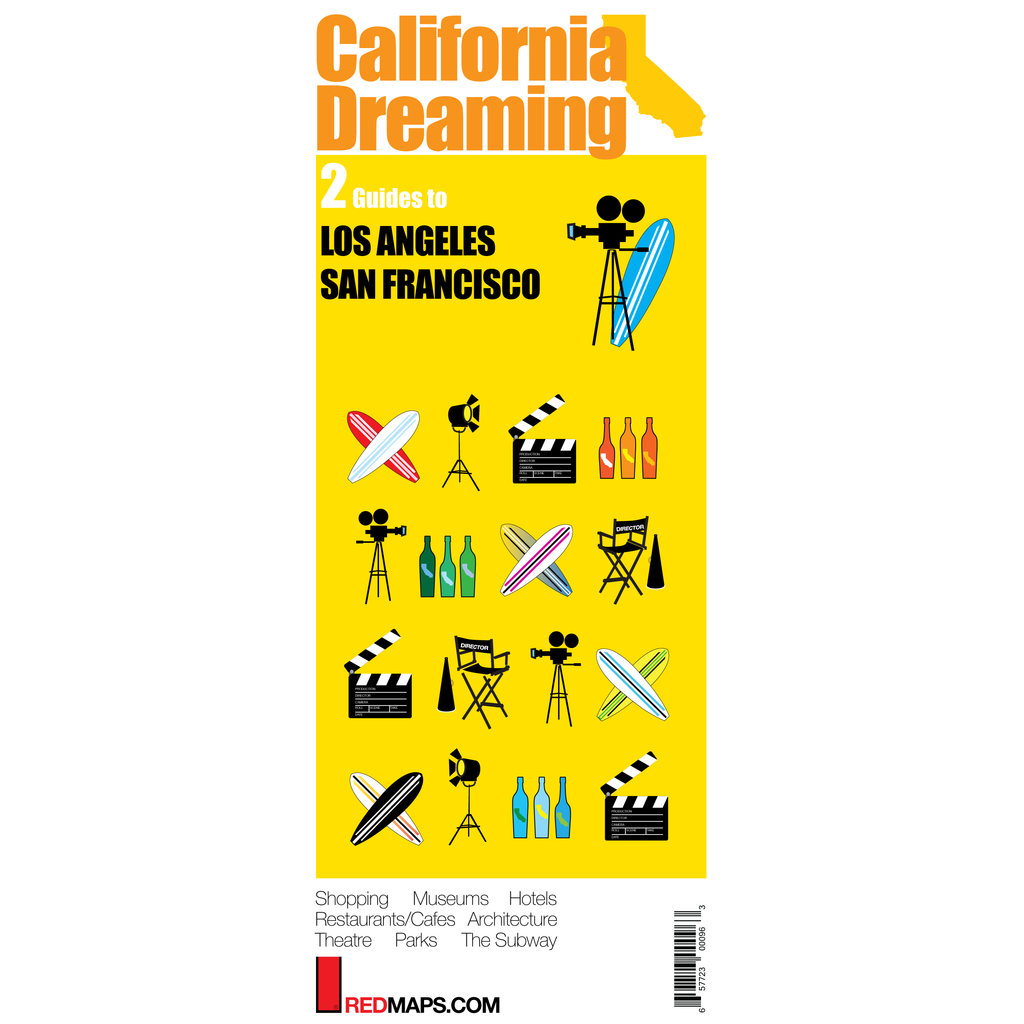 CALIFORNIA DREAMING: LA & SF City Maps