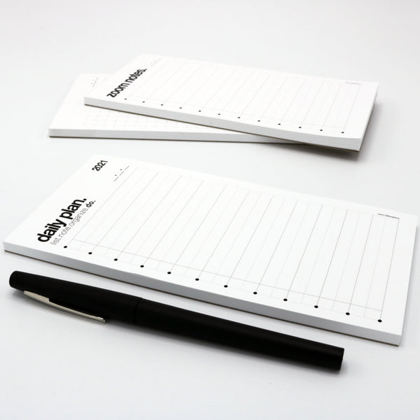 pocket-sized daily planning notepad