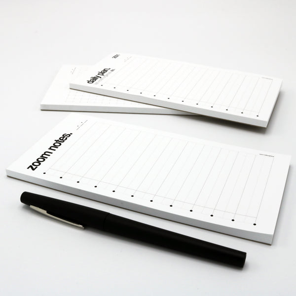 pocket-sized notepad for zoom meetings